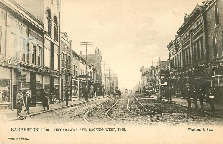 Tuscarawas Ave. 1906