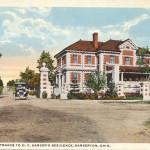 Anna Dean Entrance to O. C. Barber's residence, Barberton, Ohio