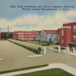Babcock & Wilcox plant. Barberton, Ohio
