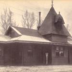 Erie Railroad Station 1908 Barberton, Ohio