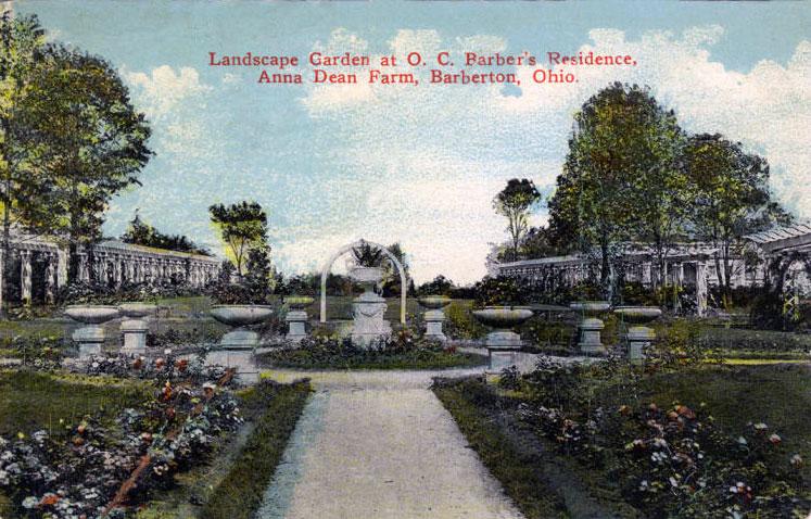 Barber Mansion – Landscaped Garden