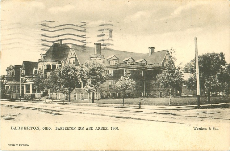 Barberton Inn 1906