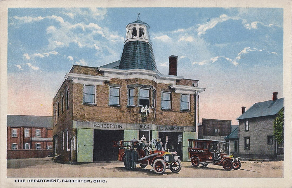 Fire Department Barberton Ohio
