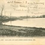 Barberton History - Lake Anna and Lake Avenue Looking North, 1906
