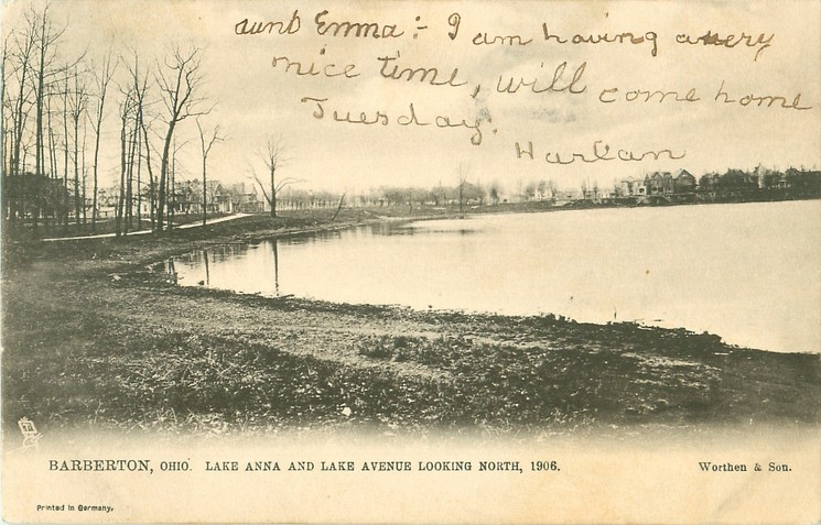 Lake Anna – Barberton, Ohio