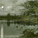 Moonlight on Lake Anna