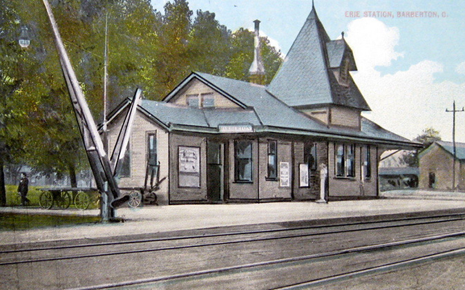 Erie Railroad Station – Barberton, Ohio