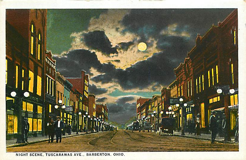 Tuscaraws Ave., Barberton, Ohio