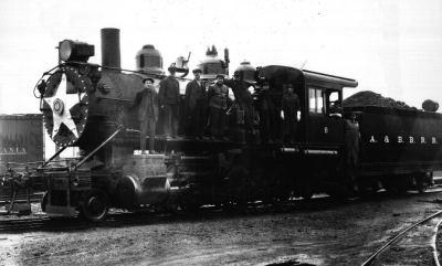 Akron Barberton Belt Rail Road 2-6-0 #4