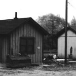 Pennsy and B&O's Barberton station shed