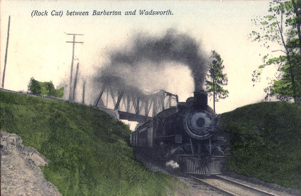 Rock Cut between Wadsworth and Barberton