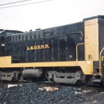 ABB 26 Baldwin (DS4.4.10) at 2nd St NW roundhouse in Barberton, Oh.