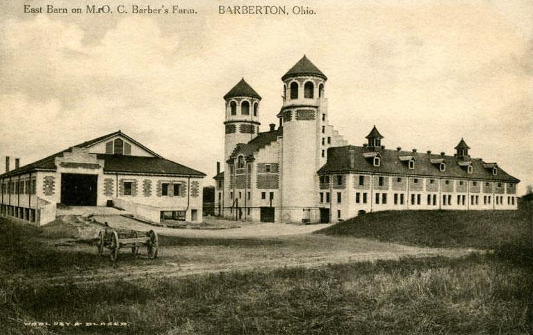 East Barn of O. C. Barber's Anna Dean Farm