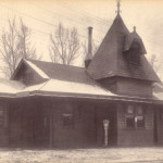 Erie Railroad Station 1908 Barberton, Ohio