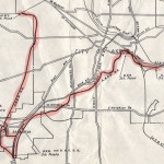 Akron Barberton Belt Inspection Trip Map