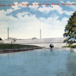Artificial Lake on O. C. Barber's Anna Dean Farm, Barberton, Ohio.