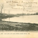 Barberton History - Lake Anna and Lake Avenue Looking North, 1906