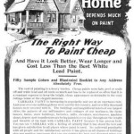 1904 Carrara Paint Agency ad from Youth Companion