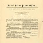 Robinson match patent page 1