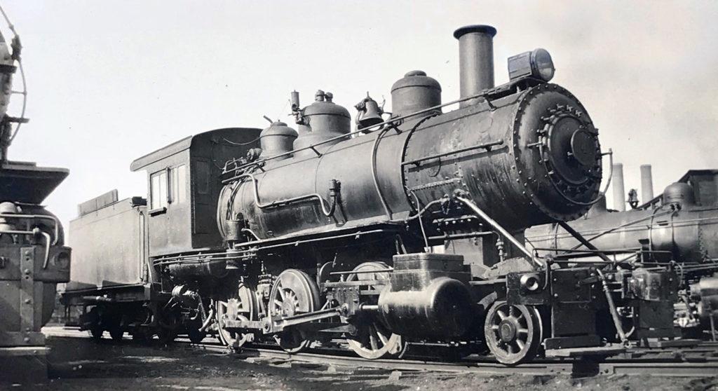 c.1931 - Akron Barberton Belt Rail Road 2-6-0 #4 in South Akron