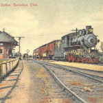 Cleveland, Akron & Columbus Railway's station, Barberton, Ohio